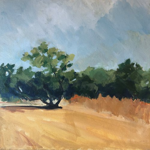 Afternoon Walk 16x16 $600.jpeg